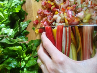 Simple Swiss Chard https://bigsislittledish.wordpress.com/2011/11/07/simple-swiss-chard/