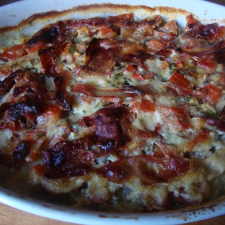 Swiss Chard Stem Gratin https://bigsislittledish.wordpress.com/2011/01/01/what-to-do-with-swiss-chard-stems-gratin-or-phyllo-triangles/