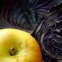 Braised Red Cabbage with Fruit and Fennel Seed