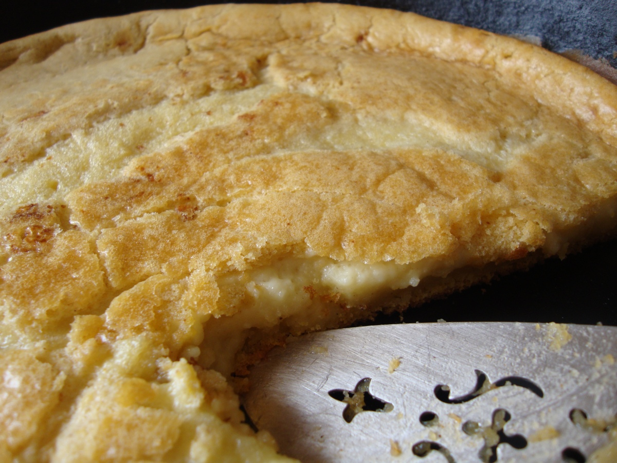 Cornmeal Custard Topped Spoon Bread (Gluten-Free)