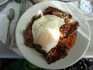 Salsa https://bigsislittledish.wordpress.com/2011/07/17/huevos-rancheros-and-other-mexican-breakfast/
