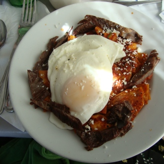 Salsa https://bigsislittledish.wordpress.com/2011/07/17/huevos-rancheros-and-other-mexican-breakfast/