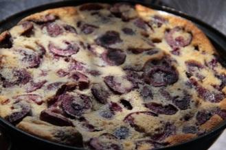 Gluten-Free Cherry Clafouti https://bigsislittledish.wordpress.com/2011/07/24/gluten-free-cherry-clafouti/