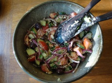 Ieva's Greek Salad https://bigsislittledish.wordpress.com/2011/08/06/ievas-greek-salad/