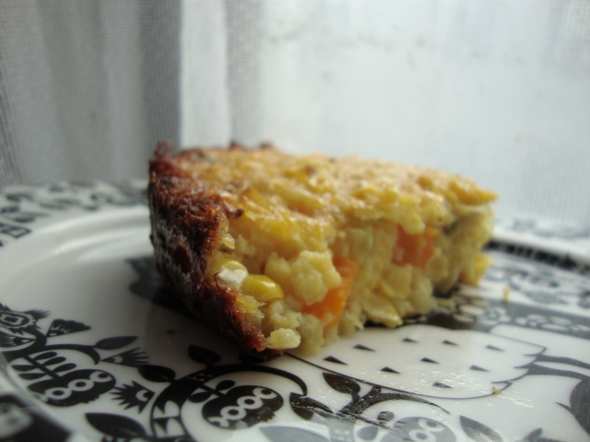 Savory Sweet Corn Pudding