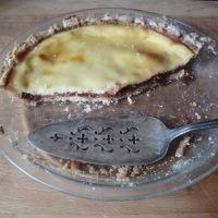 Erin's Marmalade and Sweet Almond Custard tart (gluten-free)