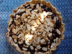 Plum Ricotta Tart with Almonds https://bigsislittledish.wordpress.com/2011/10/12/plum-ricotta-tart-with-almonds-gluten-free/