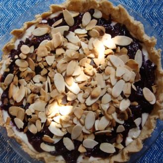 Plum Ricotta Tart with Almonds https://bigsislittledish.wordpress.com/2011/10/12/plum-ricotta-tart-with-almonds-gluten-free/