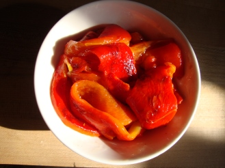 Roasted Red Pepper https://bigsislittledish.wordpress.com/2011/10/02/roasted-red-peppers/