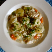 Chicken and Dumplings (gluten-free and traditional)