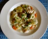 Turkey and Dumplings https://bigsislittledish.wordpress.com/2011/11/27/chicken-and-dumplings-gluten-free-and-traditional/