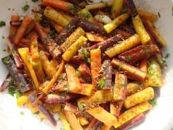 Moroccan Carrot Salad https://bigsislittledish.wordpress.com/2011/12/06/moroccan-carrot-salad/