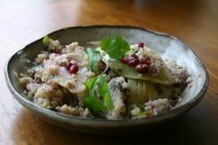 Quinoa, Fennel and Pomegranate Salad https://bigsislittledish.wordpress.com/2011/12/30/quinoa-fennel-pomegranate-salad-html/