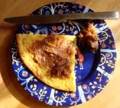 Spicy Lemon Date Spread https://bigsislittledish.wordpress.com/2012/01/08/baked-chickpea-pancake-with-spicy-lemon-date-spread/