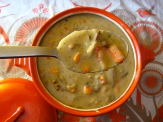 Cream of Mushroom Soup https://bigsislittledish.wordpress.com/2012/01/14/cream-of-mushroom-soup-past-present-and-future/