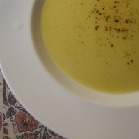 Gingery Cauliflower Soup