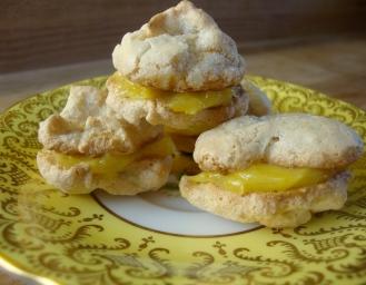 Lemon Ginger and White Pepper Macaroons https://bigsislittledish.wordpress.com/2012/01/22/magical-macaroons-in-two-flavours-almond-cardamom-and-berry-or-ginger-lemon-and-white-pepper-gluten-free/