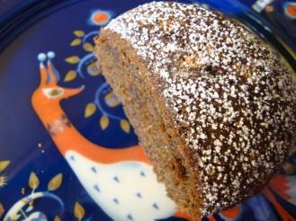 Mona's Ginger Cake (and a gluten-free, vegan version) https://bigsislittledish.wordpress.com/2012/01/29/monas-gingercake-and-a-gluten-free-vegan-version/