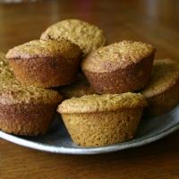 Cornmeal Molasses Millet Flour Muffins (gluten-free)