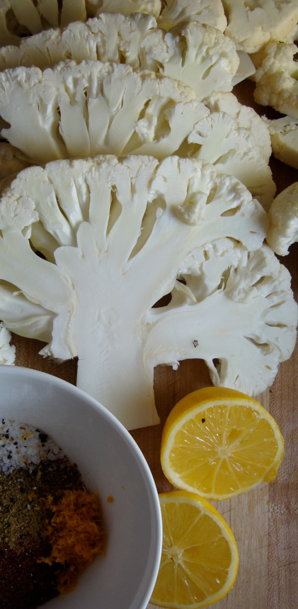 At last- Cauliflower with Lemon, Cumin and Sumac