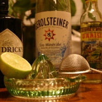 Honey-Lime Herbal 'Lixir