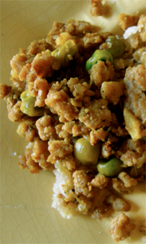 chicken keema https://bigsislittledish.wordpress.com/2011/01/03/turkey-or-chicken-keema-baked-samosas/