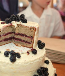Lemon Blackberry Wedding Cake Gluten Free Big Sis Little Dish