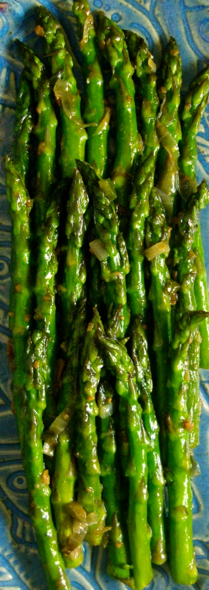 Green Vegetables in Yellow Bean Garlic Sauce