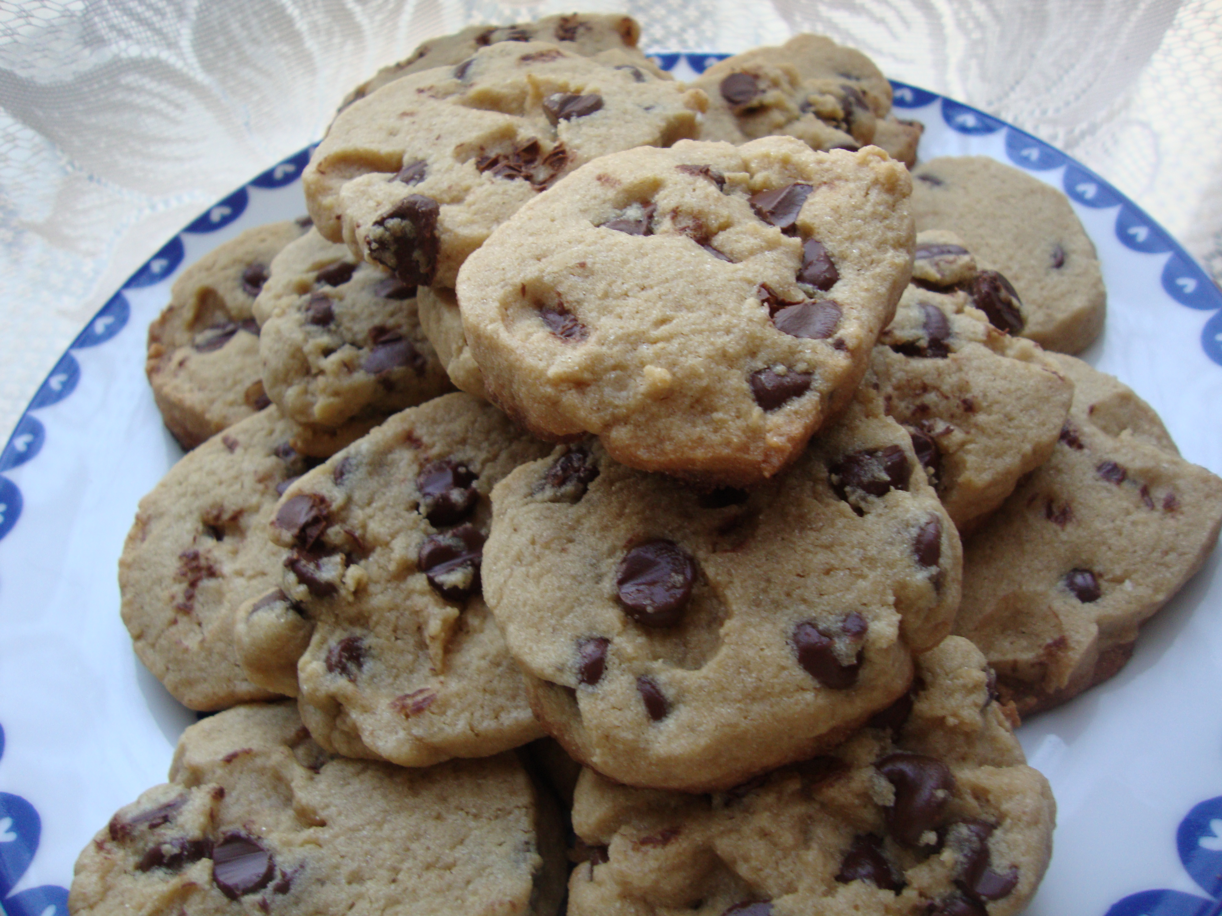 Chewy Chocolate Chip Cookies made with Amaranth, Brown ...