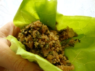 Tofu Salad with Mint and Toasted Rice Powder https://bigsislittledish.wordpress.com/2012/04/11/tofu-salad-with-mint-and-toasted-rice-powder/
