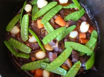 Spring Lamb Stew https://bigsislittledish.wordpress.com/2012/04/08/happy-easter-spring-lamb-stew-and-rabbit-in-savoury-chocolate-sauce/