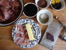 Rabbit with Savoury Chocolate Sauce https://bigsislittledish.wordpress.com/2012/04/08/happy-easter-spring-lamb-stew-and-rabbit-in-savoury-chocolate-sauce/
