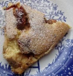 Gluten-Free Caramelized Rhubarb Clafouti https://bigsislittledish.wordpress.com/2012/05/29/slackers-caramelized-rhubarb-clafouti-gluten-free-or-not/