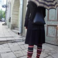 Travelers Potato, Leek, Gouda Soup                 (For a rainy day in Tallinn)