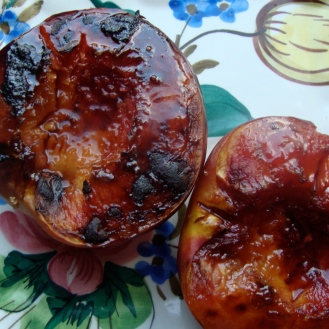 Broiled Stone Fruit https://bigsislittledish.wordpress.com/2012/08/03/broiled-stone-fruit/