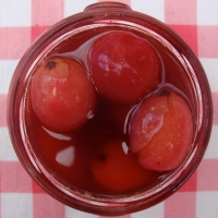 Crab Apples Pickled in Sherry Vinegar and Five Spice Powder