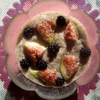 Chia Seed Pudding with Figs and Blackberries