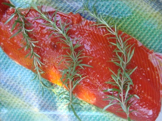 Salmon A la Ieva https://bigsislittledish.wordpress.com/2012/09/17/all-salmon-all-thetime-ievas-salmon-ground-cherry-and-almond-sauce/