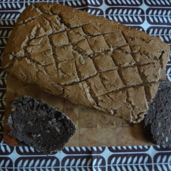 Gluten Free Dark Sour Bread (Inspired by Estonian Lieb) https://bigsislittledish.wordpress.com/2012/10/27/gluten-free-dark-sour-bread-inspired-by-estonian-leib/