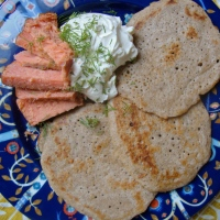 Sourdough Blini (Gluten-Free)