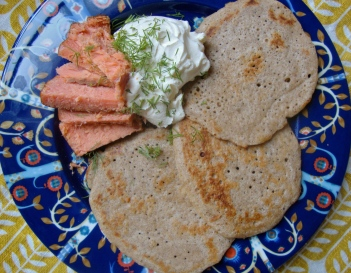 Sourdough Blini https://bigsislittledish.wordpress.com/2012/12/15/sourdough-blini-gluten-free/