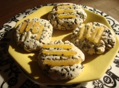 Travels in Taiwan/ Black Sesame Shortbread with Candied Ginger https://bigsislittledish.wordpress.com/2012/12/12/black-sesame-shortbread-with-candied-ginger-gluten-free-travels-in-taiwan/