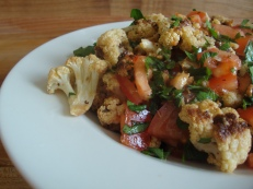 Roasted Cauliflower with Dukkah https://bigsislittledish.wordpress.com/2013/01/19/roasted-cauliflower-salad-with-dukkah/