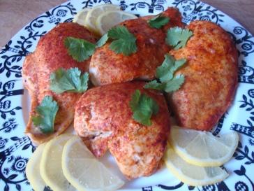 Fake Tandoori Chicken https://bigsislittledish.wordpress.com/2013/01/12/fake-tandoori-chicken/