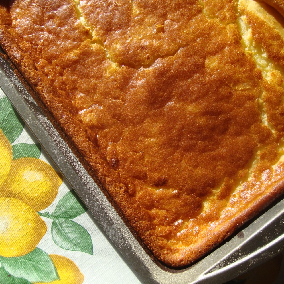 Lemon Mochiko Cake https://bigsislittledish.wordpress.com/2013/02/16/lemon-mochiko-cake/