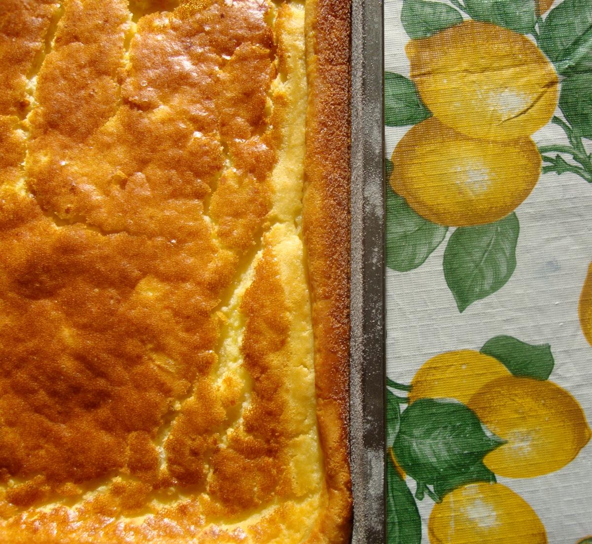 Lemon Mochiko Cake