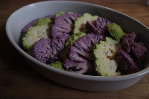 Cauliflower Gratin with Horseradish https://bigsislittledish.wordpress.com/2013/03/15/cauliflower-gratin-with-horseradish-and-poppy-seeds/