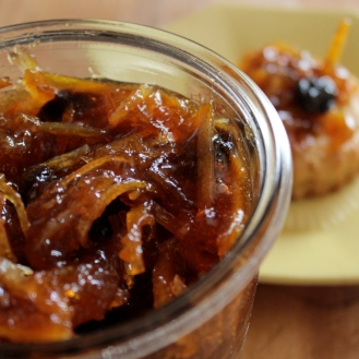 Marmalade with Bitters and Sour Cherries https://bigsislittledish.wordpress.com/2013/03/23/bittersweet-boozy-goodness-old-fashioned-orange-marmalade-with-bitters-and-sour-cherries/