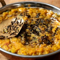 Bengal Red Lentil Dal (to defeat seasonal allergies)