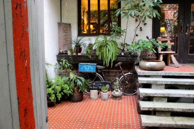 A beautiful Courtyard in the Yongkang Road area